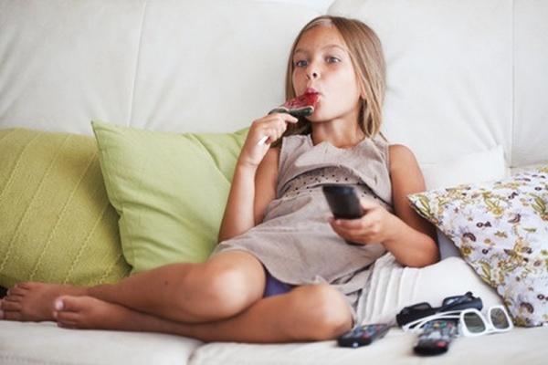 Dieťa, televízia, kupovaná