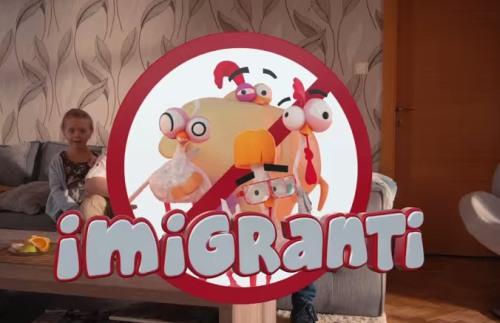 HYZA imigranti reklama