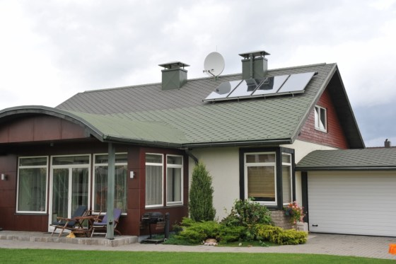 Lotyšsko a dom solárna energia