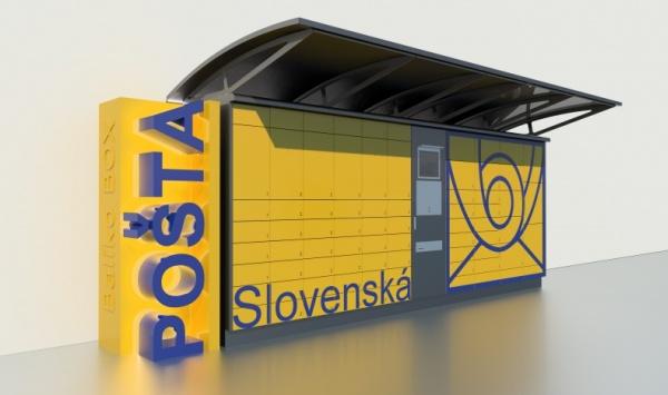 BalíkoBOX Slovenská pošta terminály