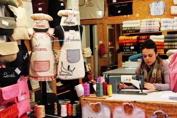 Galantéria a metrový textil