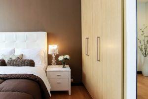 Skrina a spálňa