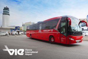 Viedeň, autobus Slovak Lines
