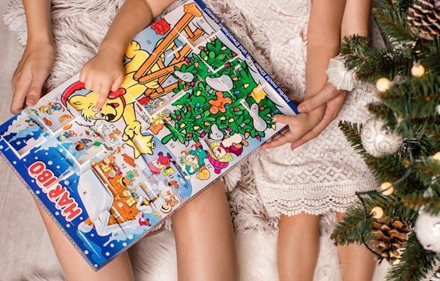 Haribo adventný kalendár