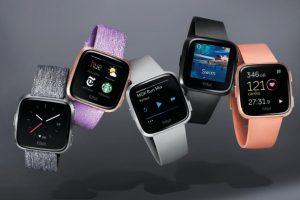 fitBit hodinky