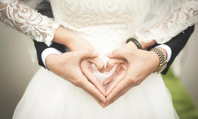 Svadba, ilustračná foto