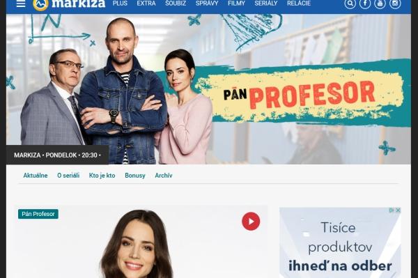 Pán Profesor TV Markíza