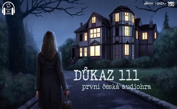 Důkaz 111 česká audiohra