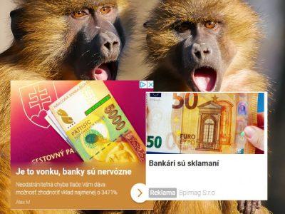 nebezpečné reklamy finančné služby