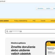 Slovenská pošta sledovanie zásielok