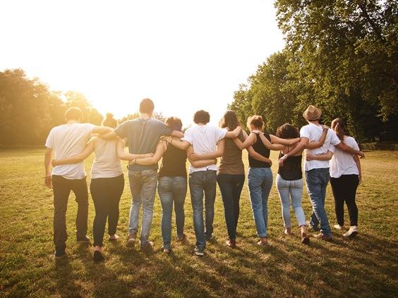 ľudia spolu