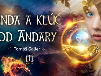 Linda a kľúč od Andary, slovenské fantasy kniha