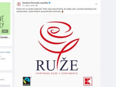 RUže, Kaufland a narážka na logo Smer-SD